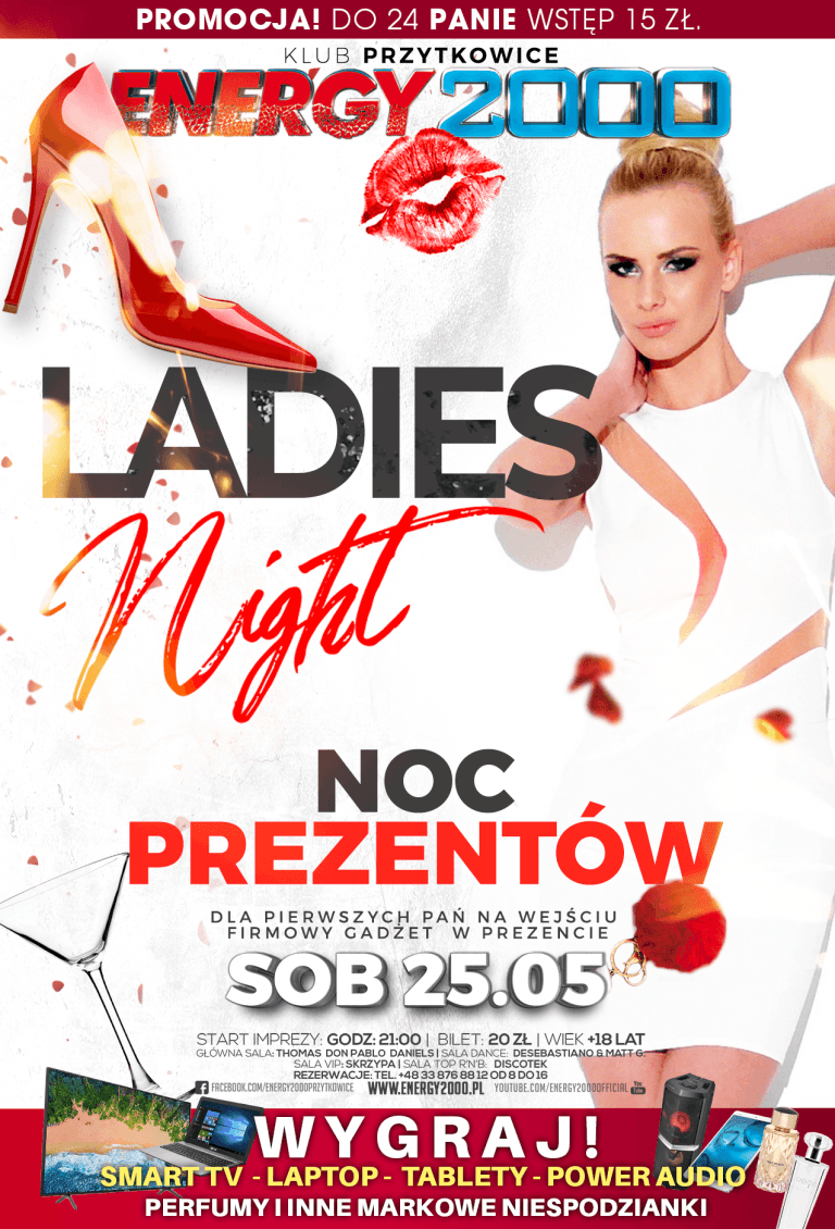 LADIES NIGHT ★ NOC PREZENTÓW