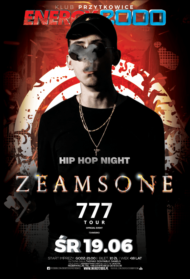 ZEAMSONE ☆ Hip-Hop Night ☆ Środa
