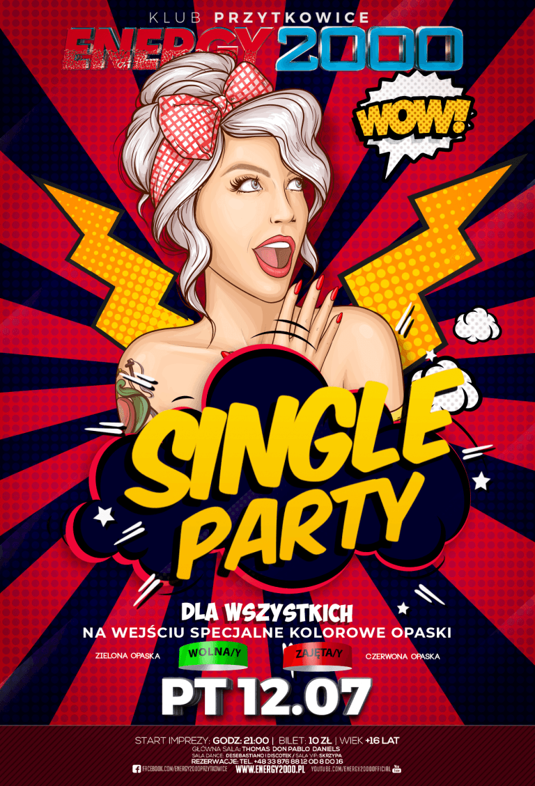 SINGLE PARTY ★ The most popular party!