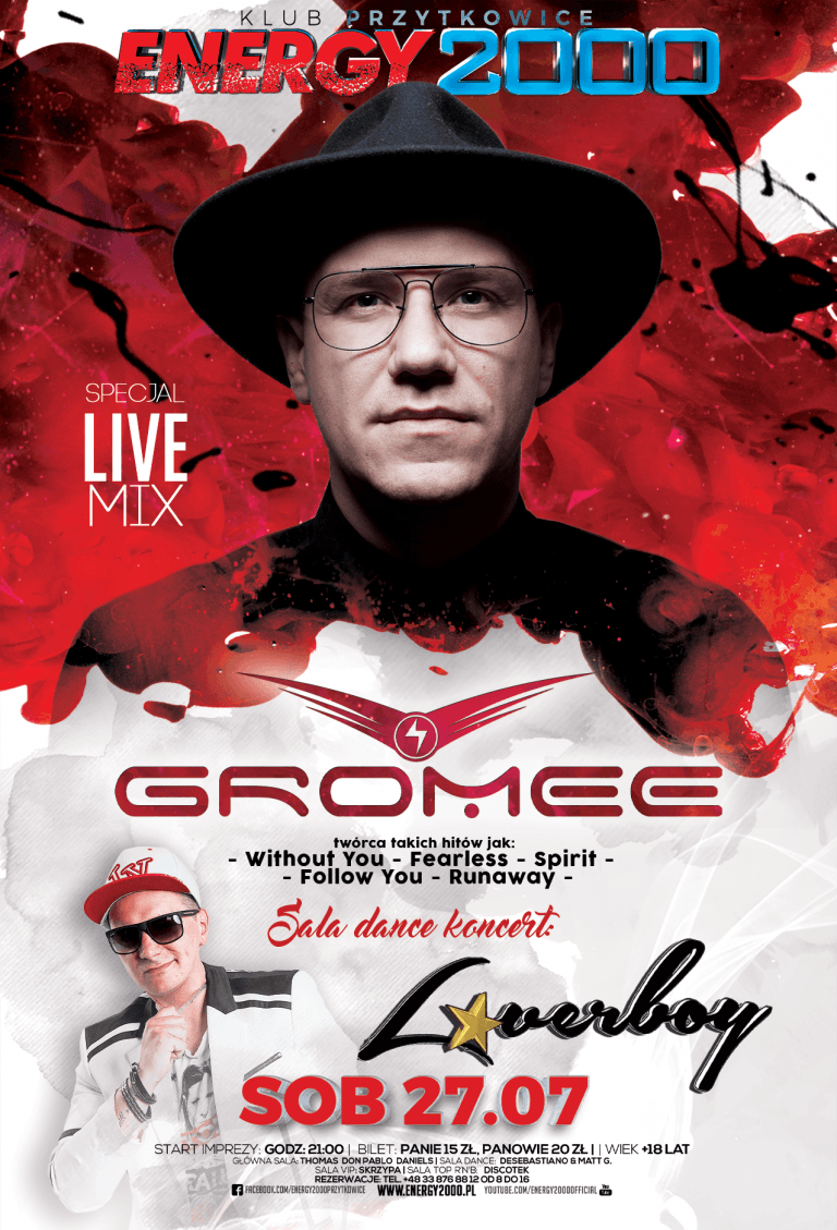 Gromee ★ Loverboy – sala dance