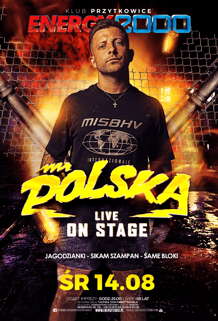 MR. POLSKA ☆ LIVE ON STAGE