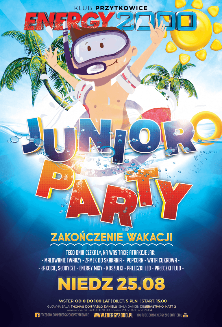 Junior PARTY ★ Zakończenie wakacji ★ Niedziela