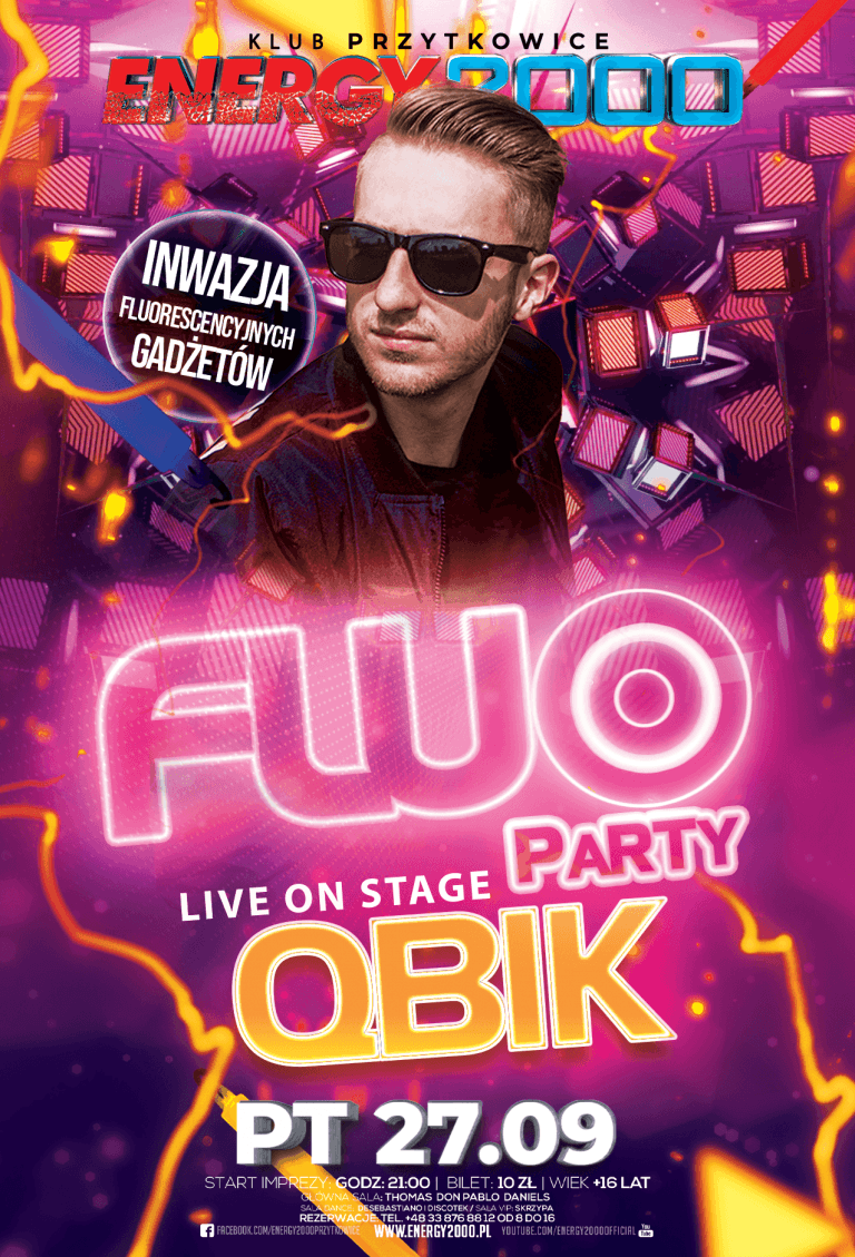 FLUO PARTY ☆ QBIK