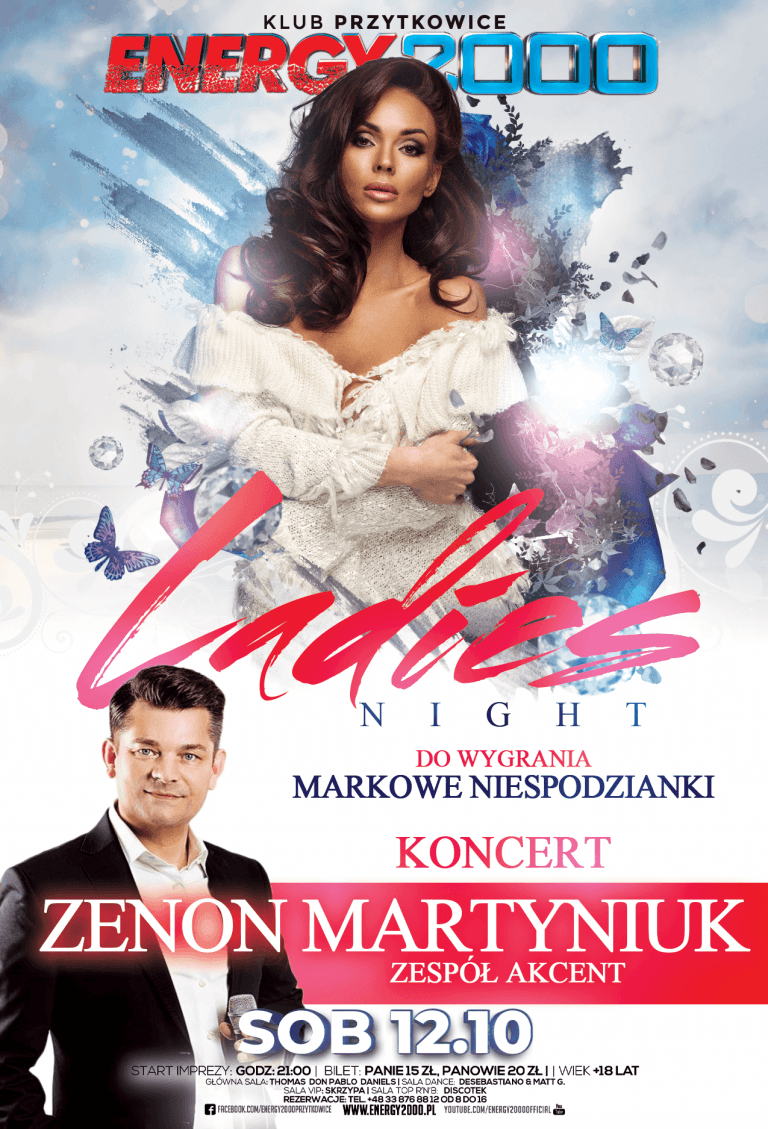 LADIES NIGHT ★ ZENON MARTYNIUK