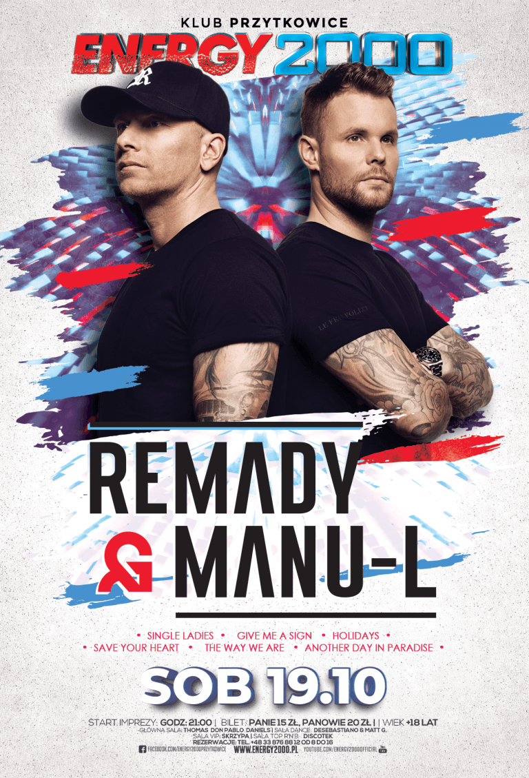 REMADY & MANU-L ★ Live On Stage