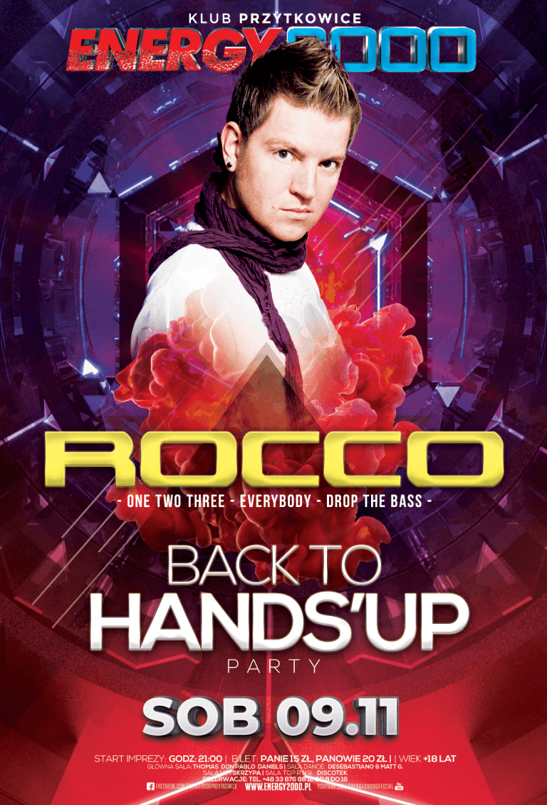 DJ ROCCO ★ BACK TO HANDS'UP!
