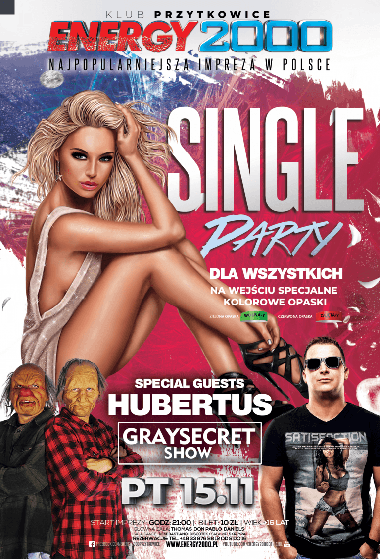 SINGLE PARTY ★ DJ HUBERTUS & GRAYSECRET SHOW