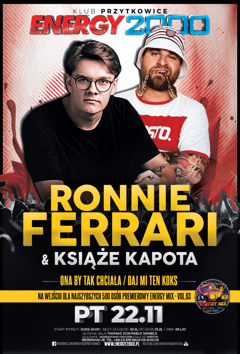 Ronnie Ferrari & Książę Kapota ☆ Live on Stage!