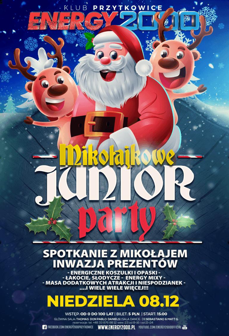 Mikołajkowe Junior PARTY ★ Niedziela 08.12