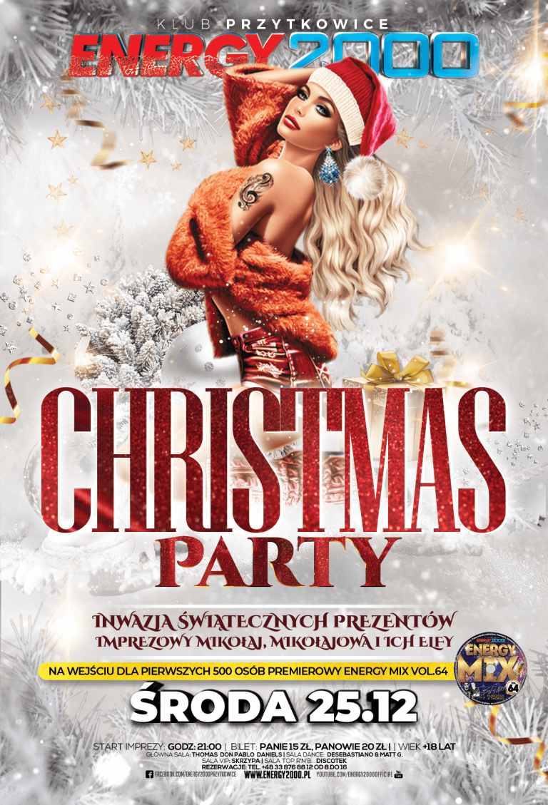 Christmas PARTY ★ Środa 25.12