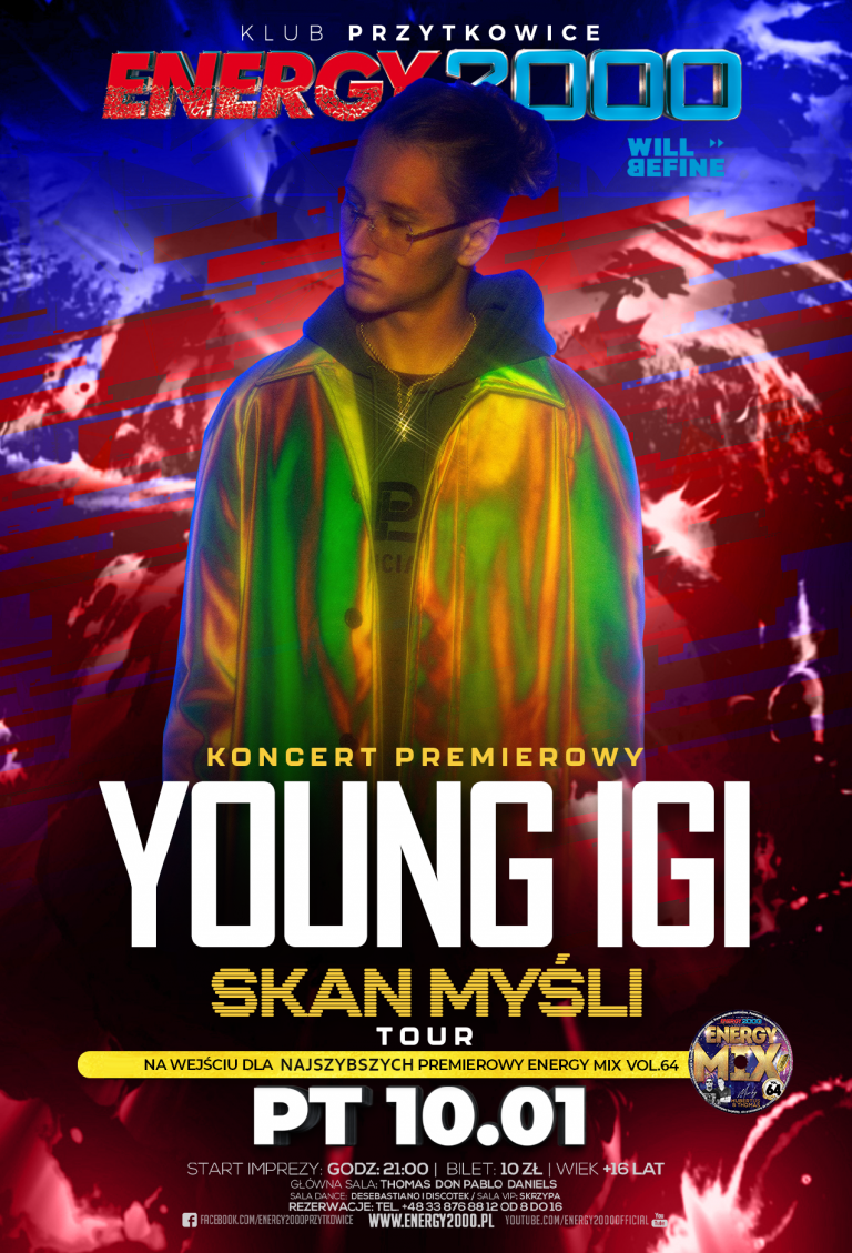 YOUNG IGI ☆ SKAN MYŚLI TOUR ☆ Hip-Hop Night