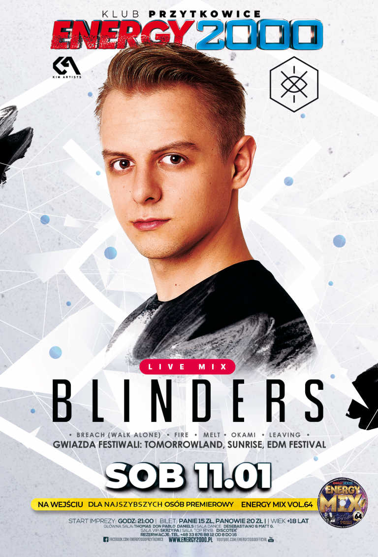 BLINDERS ☆ EDM NIGHT