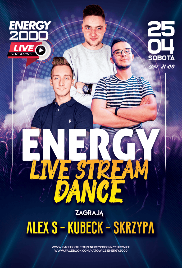 Energy Live Stream ★ Edycja Dance!