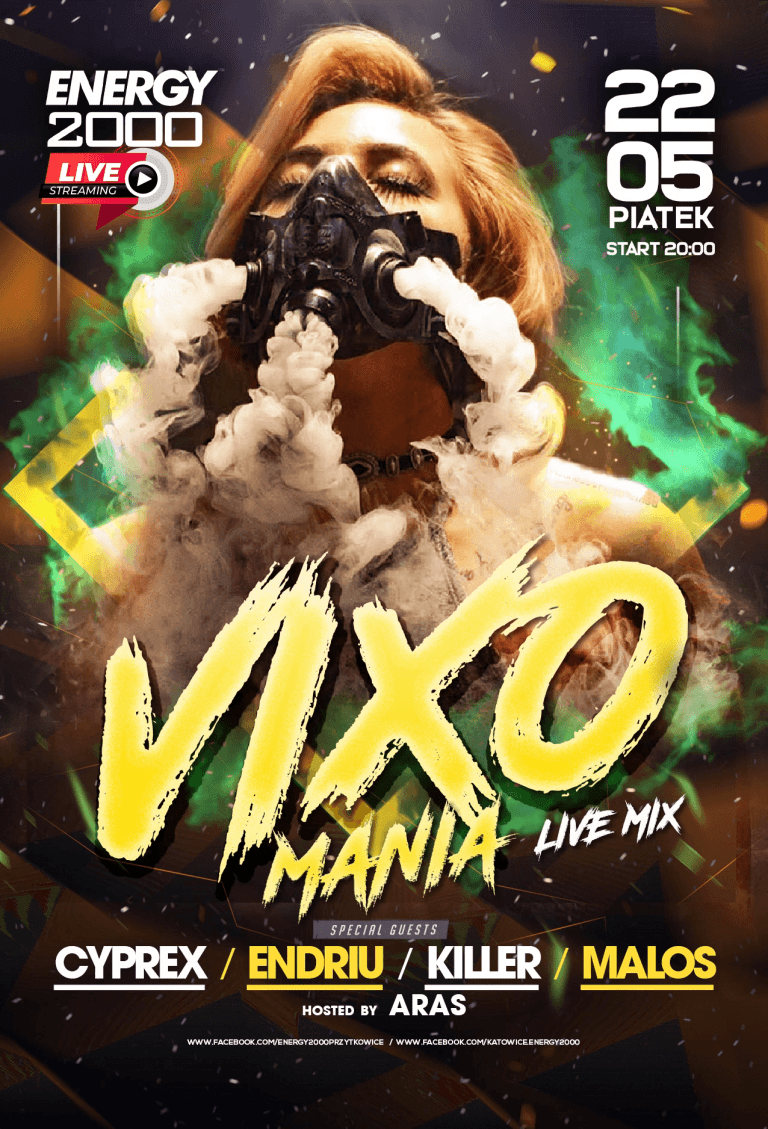 Vixomania Live Stream ★ Cyprex/ Endriu/ Killer/ Malos/ Aras