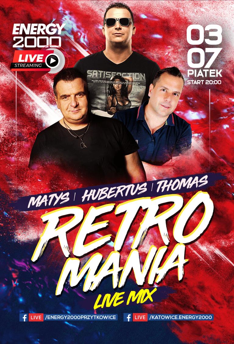 Retromania Live Stream ★ Matys/ Hubertus/ Thomas