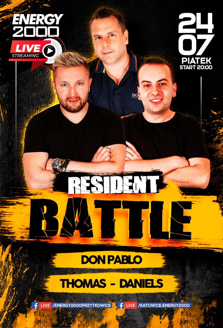 Resident Battle ★ Thomas/ Don Pablo/ Daniels