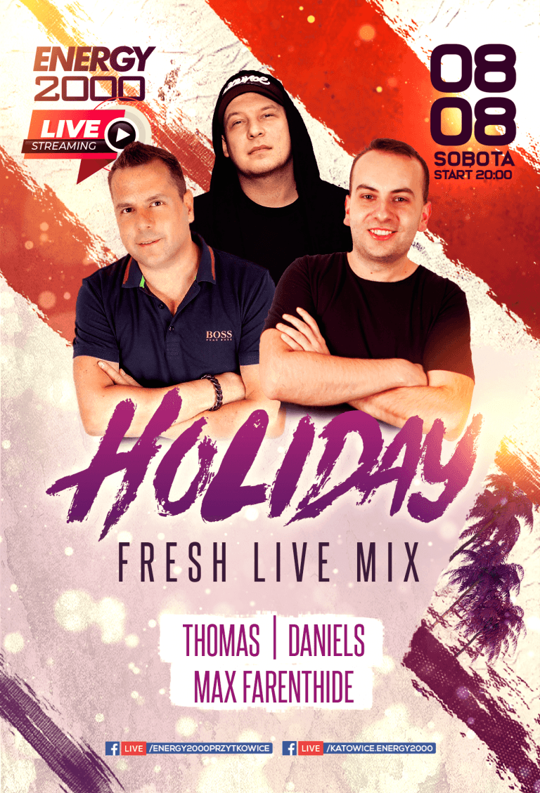 Holiday Live Stream ★ Thomas/ Max Farenthide/ Daniels
