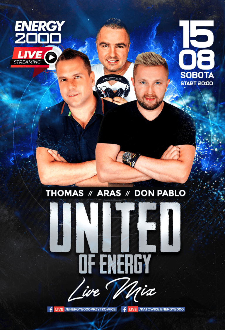 United Of Energy ★ Thomas/ Aras/ Don Pablo
