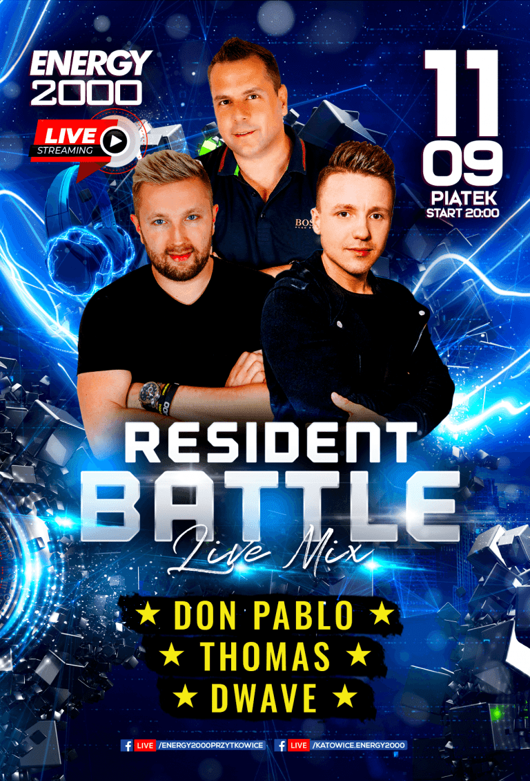 Resident Battle ★ Don Pablo/ Thomas/ D-Wave