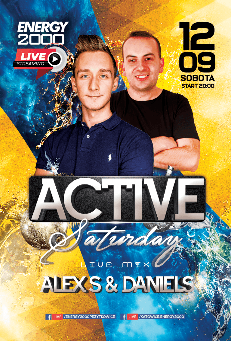 ACTIVE SATURDAY ★ Alex S/ Daniels