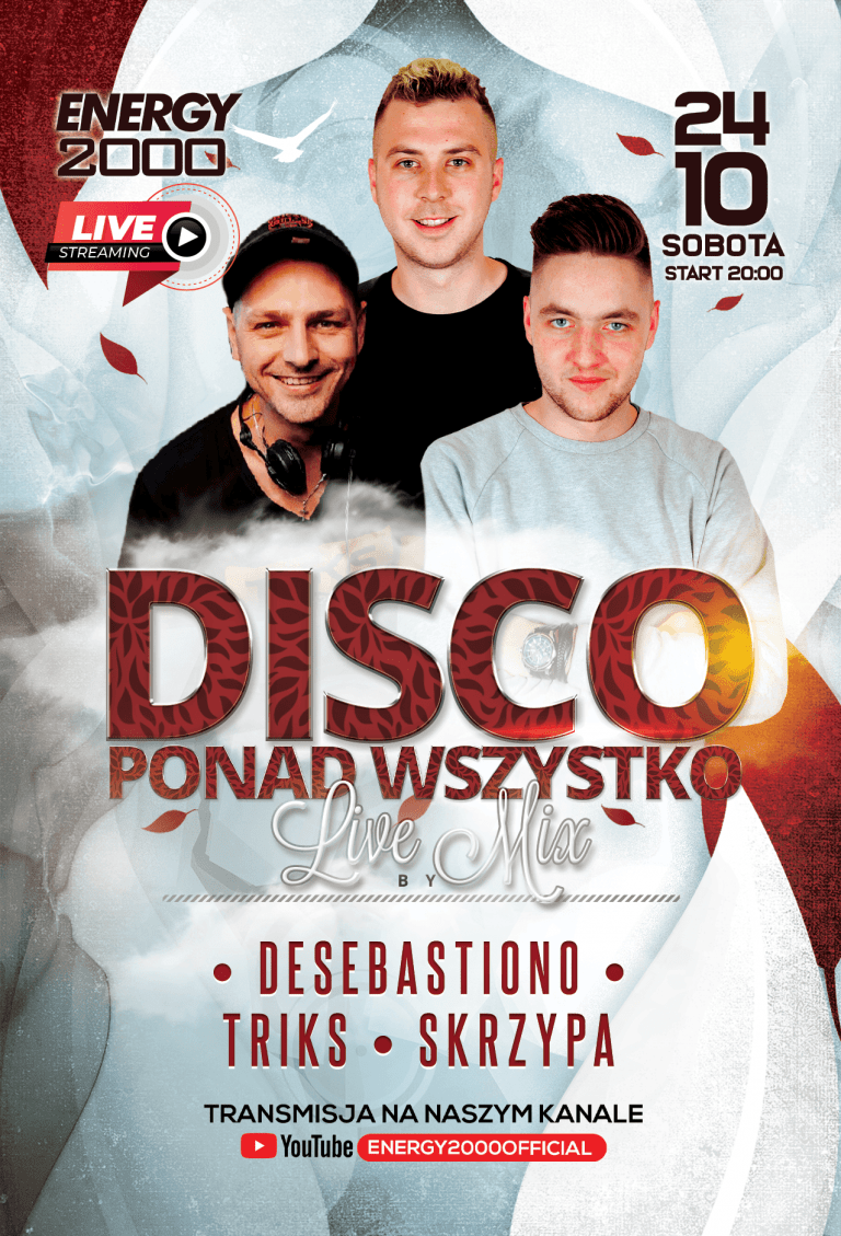 DISCO LIVE STREAM ★ TRIKS/ DESEBASTIANO/ SKRZYPA