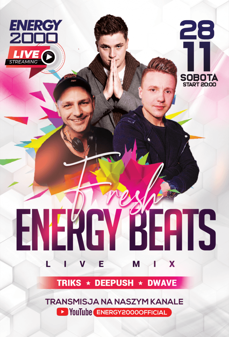 FRESH ENERGY BEATS ★ TRIKS/ DEE PUSH/ D-WAVE