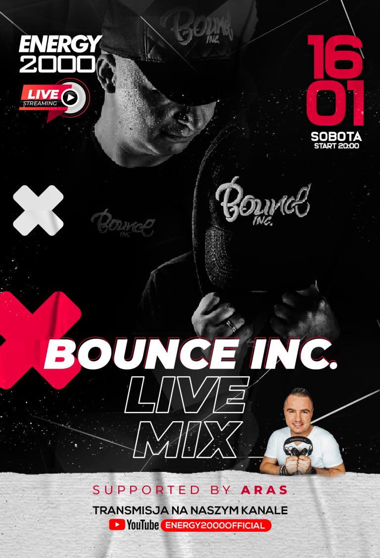 BOUNCE INC. ★ LIVE STREAM