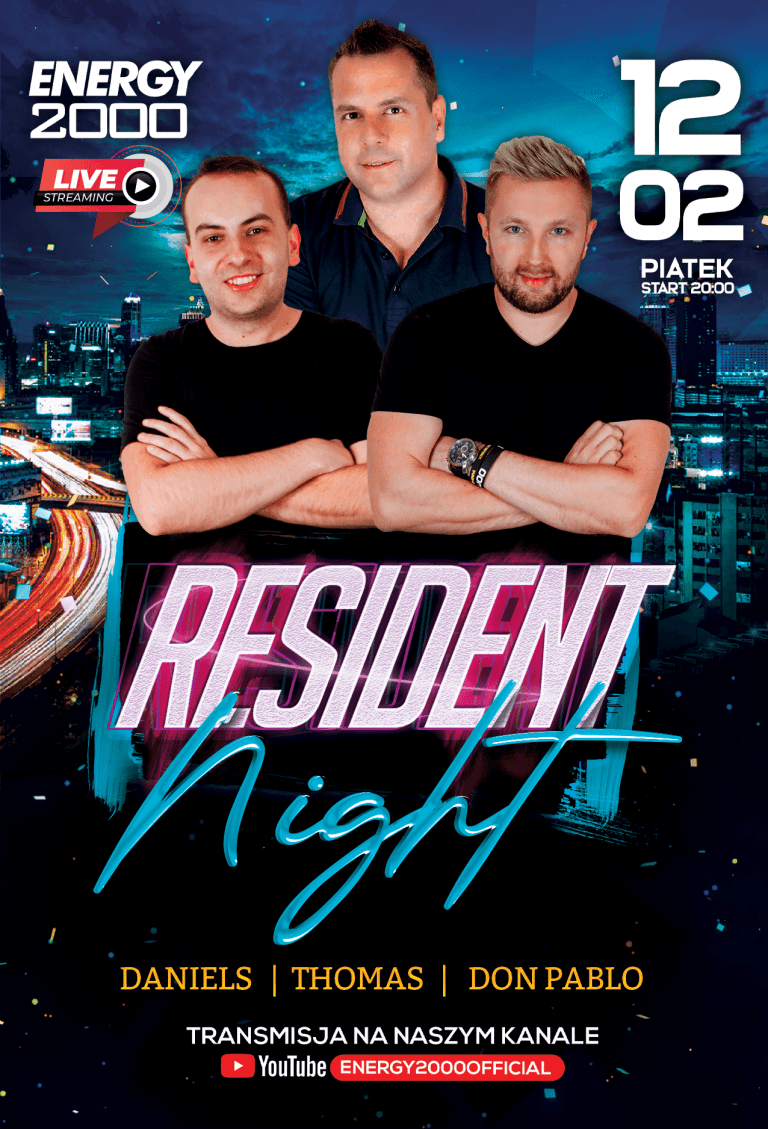 RESIDENT NIGHT ★ Daniels/ Thomas/ Don Pablo