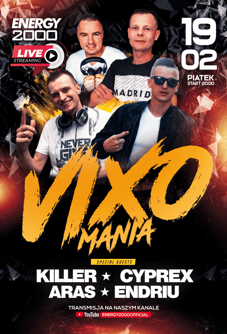 VIXOMANIA LIVE STREAM ★ KILLER/ CYPREX/ ENDRIU/ ARAS