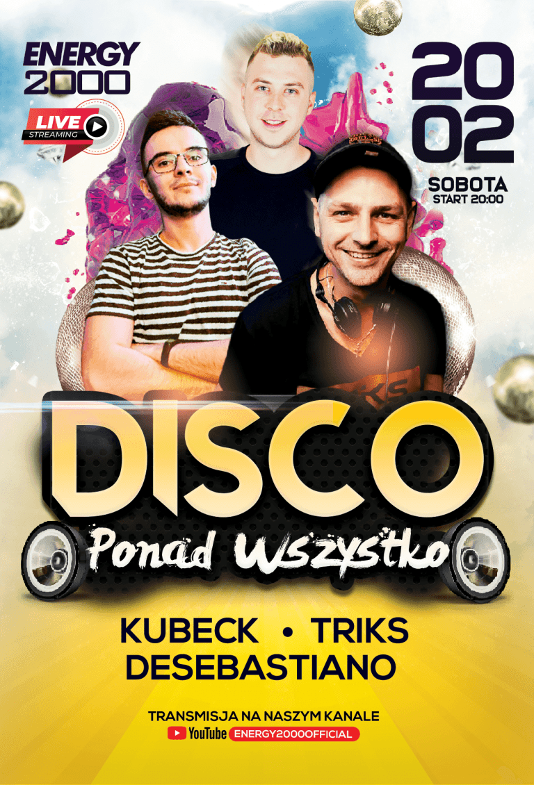 Disco Ponad Wszystko ★ Kubeck/ DeSebastiano/ Triks