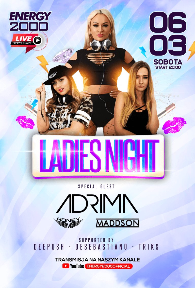 LADIES NIGHT LIVE ★ HONEY M/ ADRIMA/ MADDSON