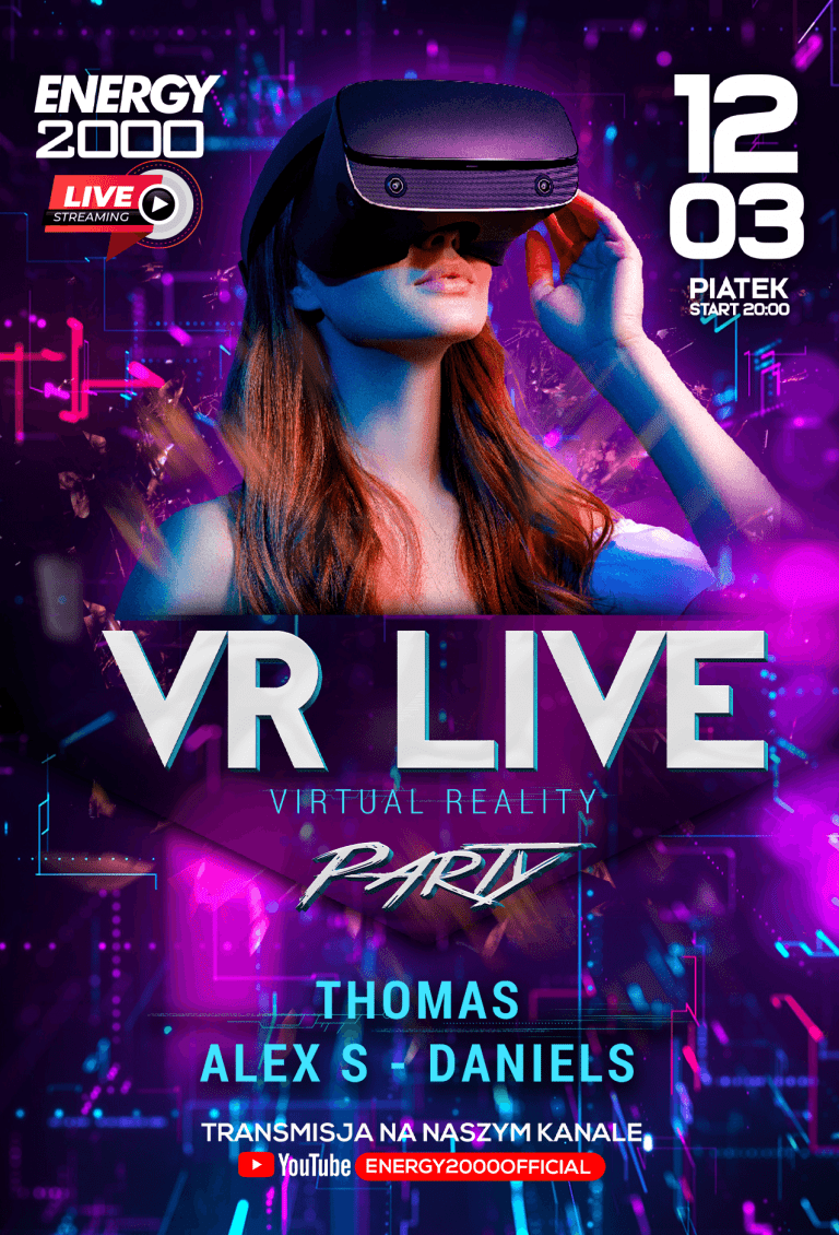 VR LIVE PARTY ★ ALEX S/ DANIELS/ THOMAS