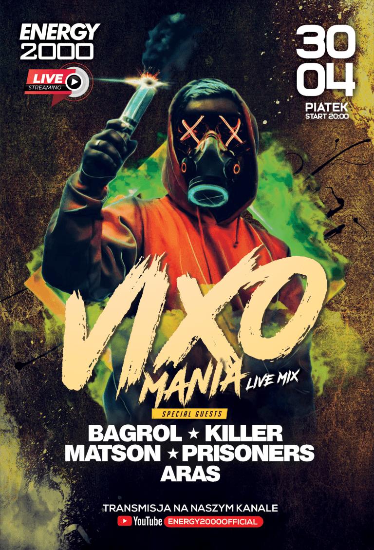 VIXOMANIA LIVE STREAM ★ KILLER/ MATSON/ PRISONERS/ BAGROL/ ARAS