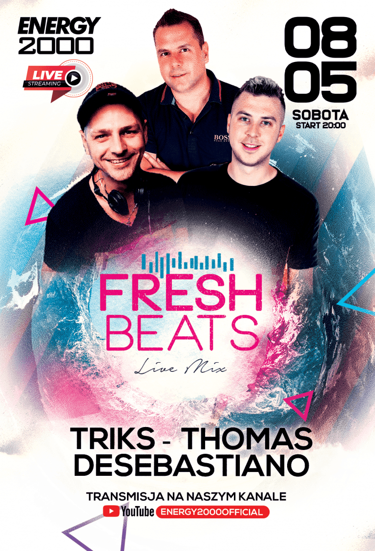FRESH BEATS ★ TRIKS/ THOMAS/ DESEBASTIANO