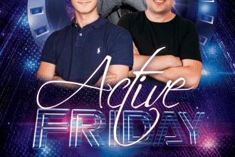 ACTIVE FRIDAY ★ ALEX S/ DEEPUSH/ DANIELS