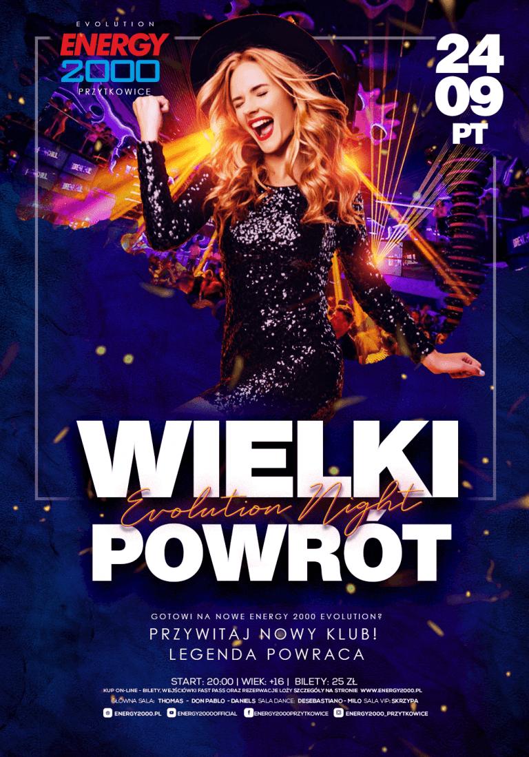 WIELKI POWRÓT ☆ Evolution Night!