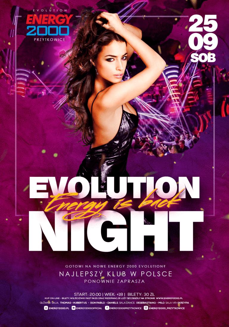 ENERGY IS BACK ☆ Evolution Night!