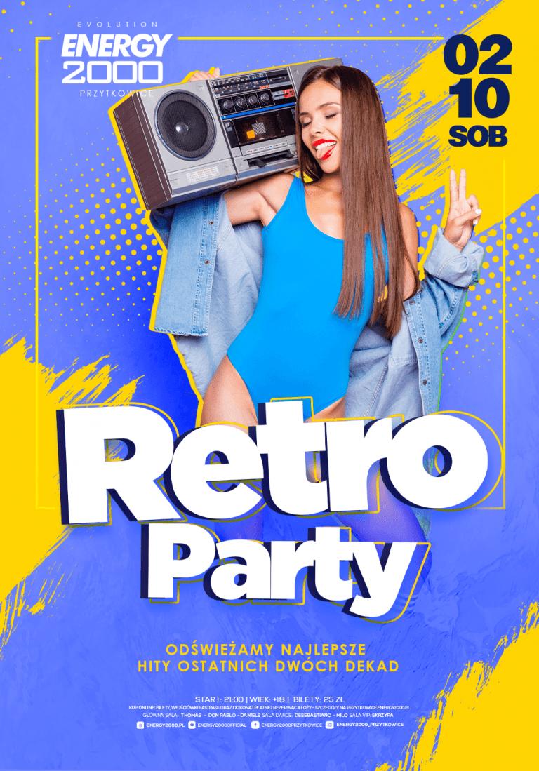 RETRO PARTY ☆ Muzyczne wspomnienia!