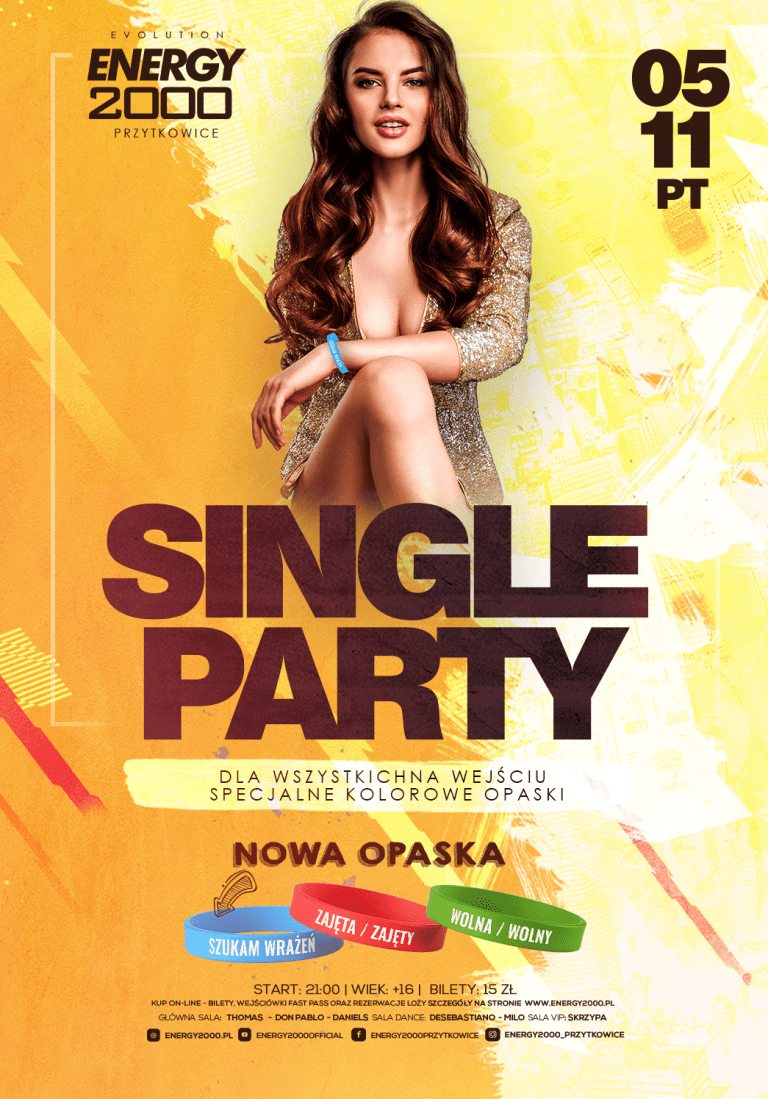 SINGLE PARTY ☆ Specjalne opaski!